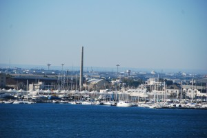 Порт города Бари (Италия)
