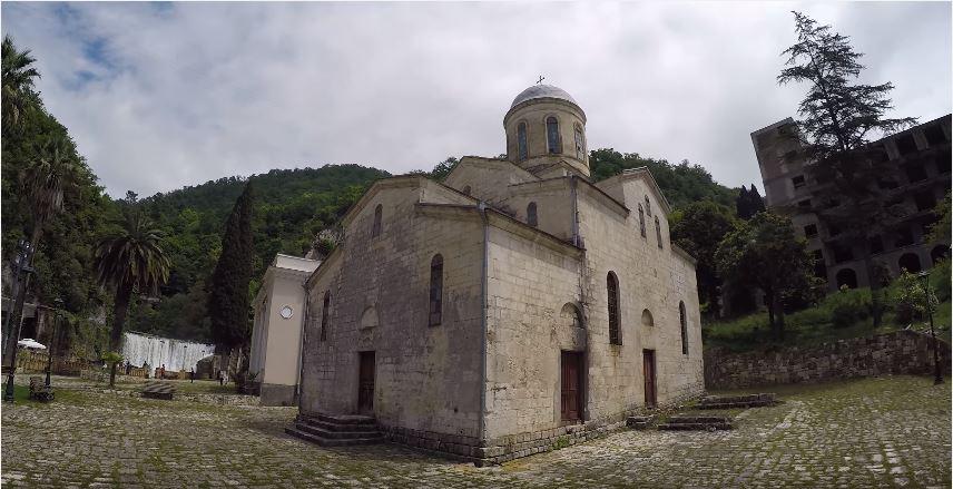 Церковь в новом афоне